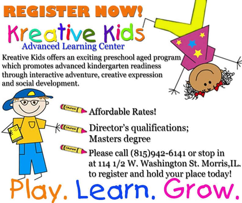 Kreative Kids registration