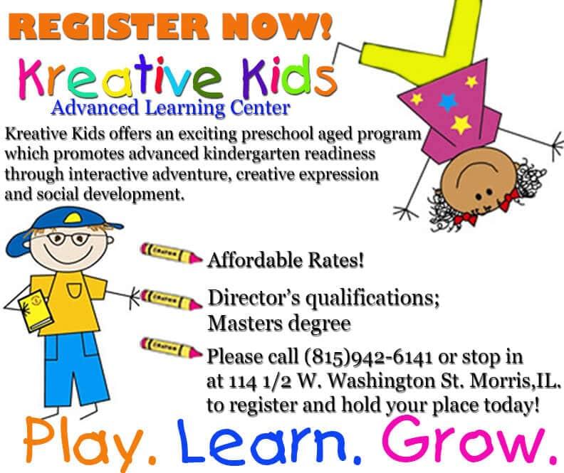 Kreative Kids registration
